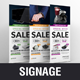 Product Rollup Banner Signage Design v1 - GraphicRiver Item for Sale