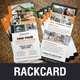 Real Estate Rackcard DL Flyer Design v2 - GraphicRiver Item for Sale