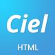 Ciel - SaaS App Landing Page Template