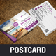 Holiday Travel Postcard Design v1 - GraphicRiver Item for Sale
