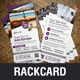 Holiday Travel Rack Card DL Flyer Design v1