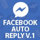 Facebook Auto Reply V.1.2 - CodeCanyon Item for Sale