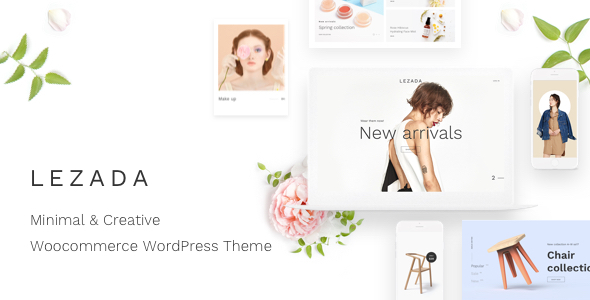 Lezada - Minimal & Creative WooCommerce WordPress Theme - WooCommerce eCommerce
