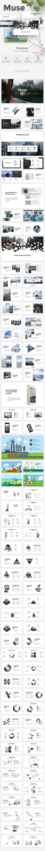 Muse Creative Google Slide Template - Google Slides Presentation Templates