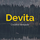 Devita Creative Keynote Template - GraphicRiver Item for Sale