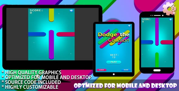 Dodge the Collision / (C2 + C3) Puzzle Game - CodeCanyon Item for Sale