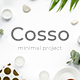 Cosso Minimal Project Google Slide Template