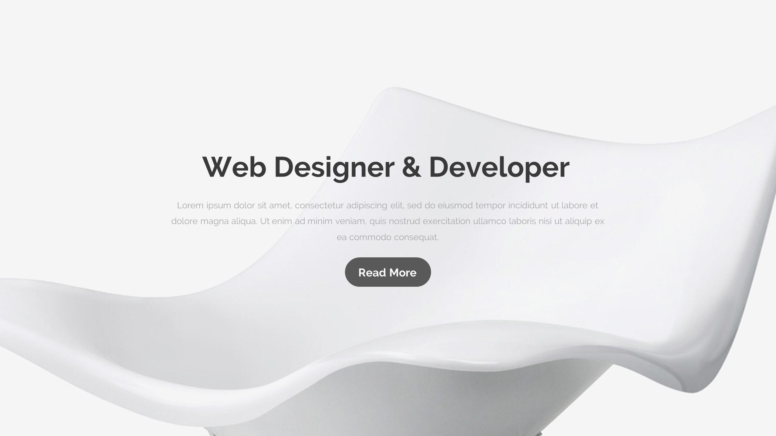 Cosso Minimal Project Google Slide Template