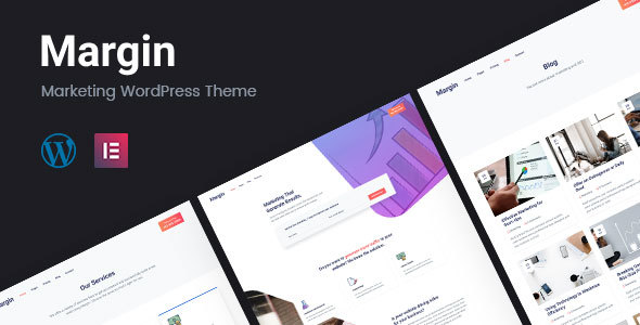 Image of Margin | Marketing WordPress Theme