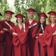 Portrait of Group of Graduating Students Holding Diplomas and Standing Outdoors with Arms Crossed - VideoHive Item for Sale