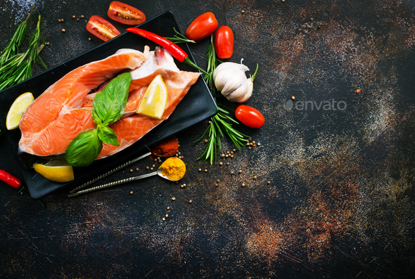 salmon - Stock Photo - Images