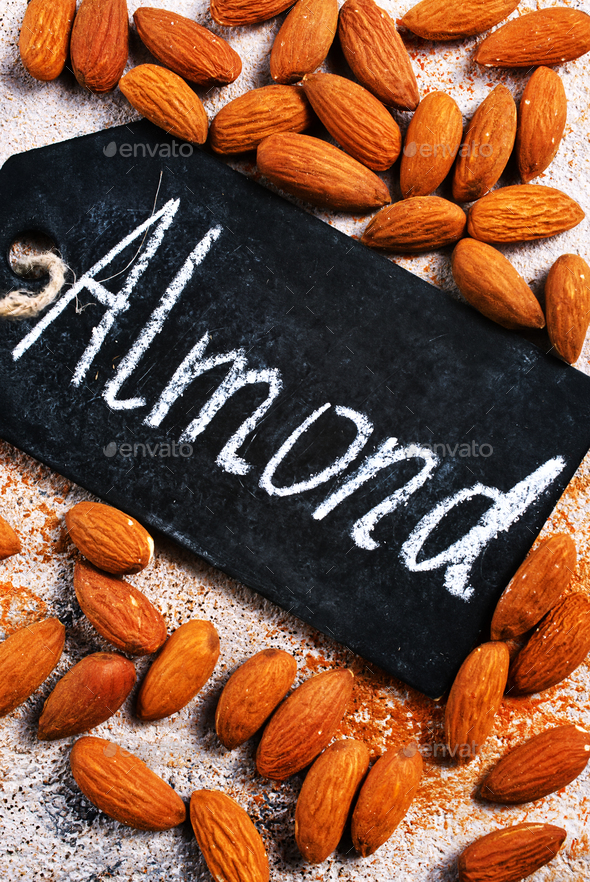 almond - Stock Photo - Images