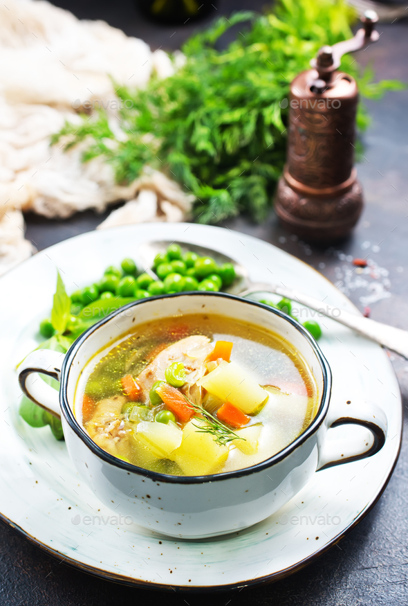 soup - Stock Photo - Images