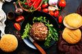 ingredients for burgers - PhotoDune Item for Sale