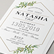 Geometric Bridal Shower Invitation - GraphicRiver Item for Sale