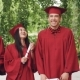 Portrait of Graduating Students Standing in Line Holding Diplomas and Laughing Looking at Camera - VideoHive Item for Sale