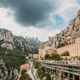 Santa Maria De Montserrat. Benedictine Abbey In Mountain Of Mont - PhotoDune Item for Sale
