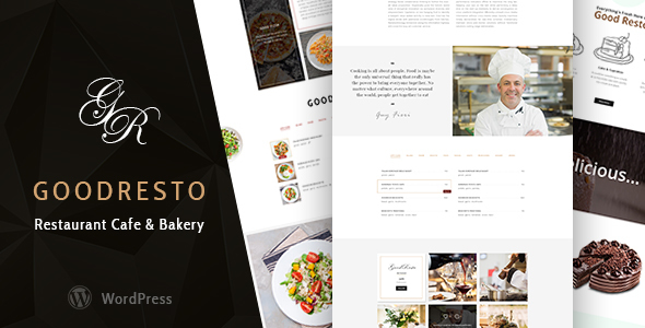 GoodResto - Restaurant WordPress Theme + Woocommerce - Restaurants & Cafes Entertainment