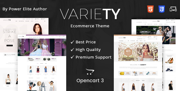 Image of Variety - Multipurpose OpenCart 3 Theme