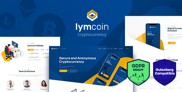 Lymcoin | Cryptocurrency & ICO WordPress Theme - Technology WordPress