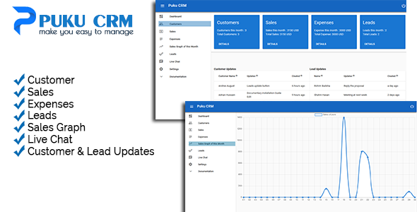 Puku CRM            Nulled