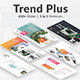 3 in 1 Trends Plus Premium Bundle Powerpoint Template - GraphicRiver Item for Sale