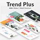 3 in 1 Trends Plus Premium Bundle Google Slide Template