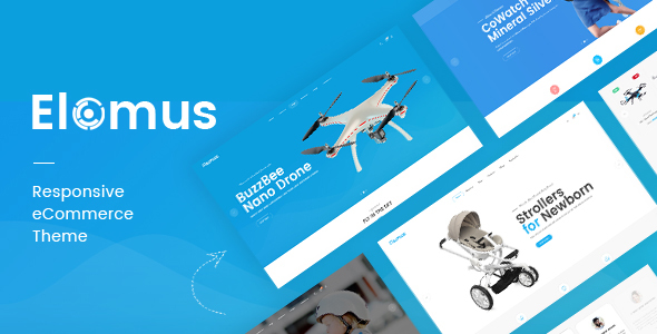Image of Elomus - Single Product OpenCart Theme