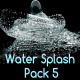Water Splash Pack 5 - VideoHive Item for Sale