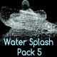 Water Splash Pack 5 - VideoHive Item for Sale