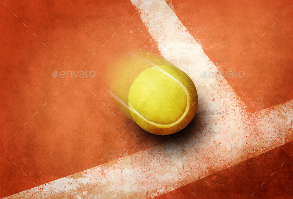 Tennis point - Stock Photo - Images