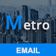 Metro - Responsive Email Template - ThemeForest Item for Sale