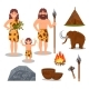 Stone Age Symbols Set - GraphicRiver Item for Sale