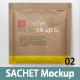Sachet Package Mockup 02 - GraphicRiver Item for Sale