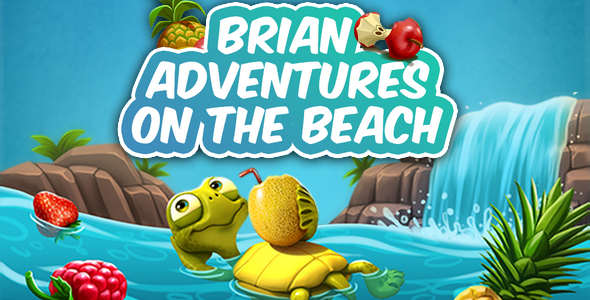 Brian adventures on the beach            Nulled