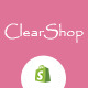 Clear Shop - Wonderful Responsive Shopify Theme - ThemeForest Item for Sale