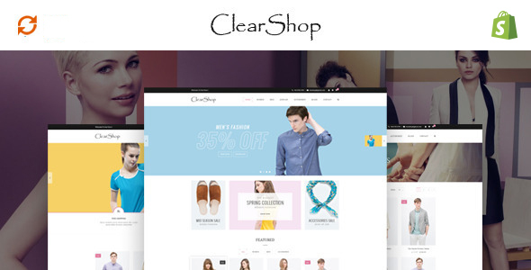 Image of Clear Shop - Wonderful Responsive Shopify Theme