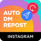 Instagram Auto DM (Direct Message) to New Followers & Repost Modules for Nextpost Instagram - CodeCanyon Item for Sale