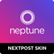 Neptune - Nextpost Instagram Skin - CodeCanyon Item for Sale