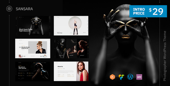 Sansara | A Contemporary Photography WordPress Theme
