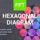 Hexagonal Diagram - Powerpoint