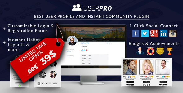 UserPro - Community and User Profile WordPress Plugin