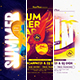 Summer Party Flyer/Poster Bundle - GraphicRiver Item for Sale