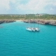 Top View of the Sailing Boats in Blue Lagoon - VideoHive Item for Sale