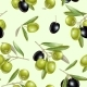 Olive Seamless Pattern - GraphicRiver Item for Sale