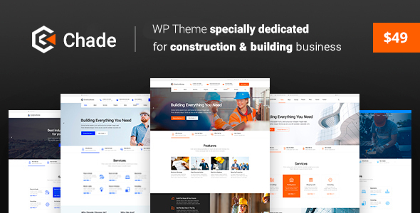 Image of Construction Chade - Construction WordPress for Construction