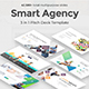 Smart Agency 3 in 1 Pitch Deck Powerpoint Bundle Template - GraphicRiver Item for Sale