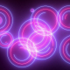 Neon Colorful Blinking Circles - VideoHive Item for Sale