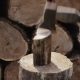 Wood Chopping Worker Chopping Wood Outdoors - VideoHive Item for Sale