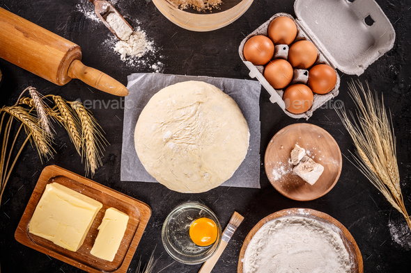 Baking ingredients - Stock Photo - Images